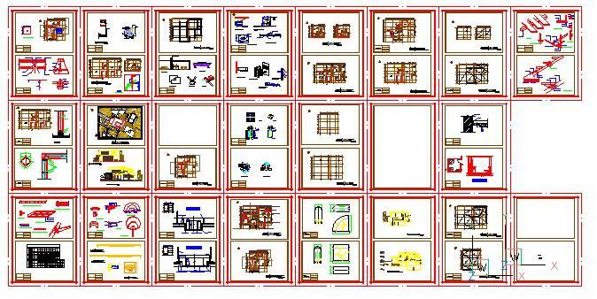 دانلود پروژه کامل طراحی فنی ساختمان چند طبقه