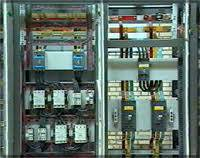 گزارش کارآموزی آشنایی با نحوه تولید تابلوهای برق صنعتی